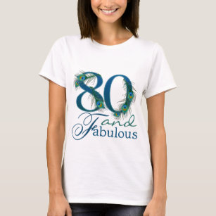 Happy 80th Birthday T Shirts