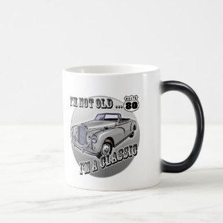 80th Birthday T-shirts and Gifts 11 Oz Magic Heat Color-Changing Coffee Mug