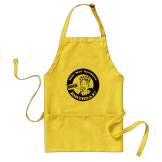 80th Birthday T-shirts and Gifts Adult Apron