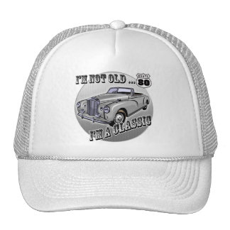 80th Birthday T-shirts and Gifts Trucker Hats