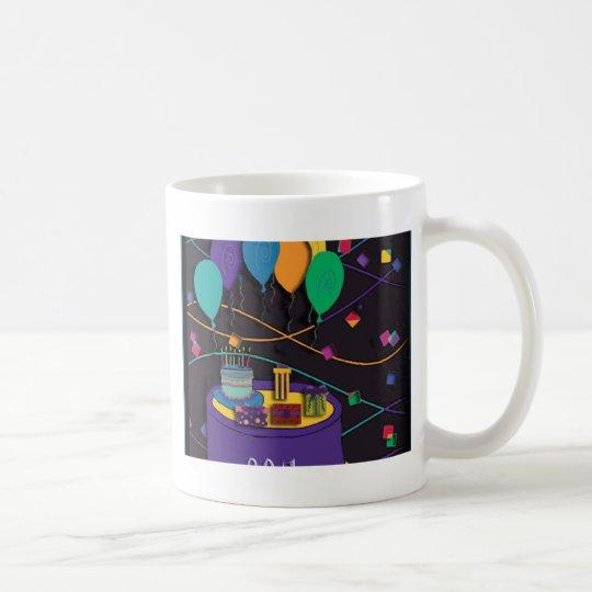 80th coffee mug