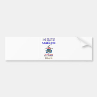 80th INFANTRY DIVISION Bumper Sticker