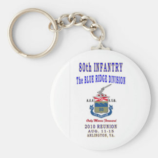 80th INFANTRY DIVISION Keychain