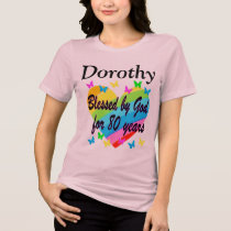 80TH LOVE FILLED PERSONALIZED BIRTHDAY T SHIRT