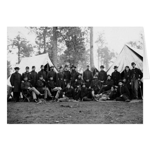 80th New York Infantry: 1863 Card