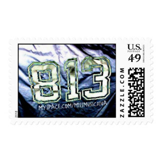 813 TAMPA AREA CODE Postage