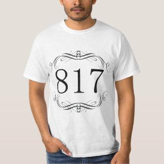 817 Area Code Tee Shirts