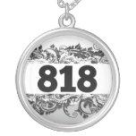 818 ROUND PENDANT NECKLACE