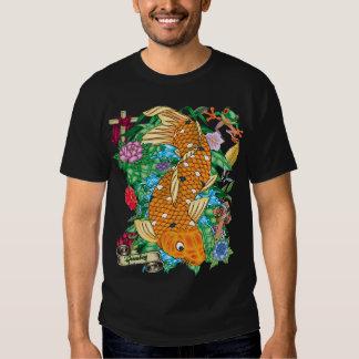 81-Koi Tattoo Flash T-shirt