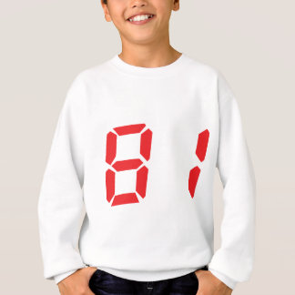 81 ochenta y uno números digitales del despertador remeras