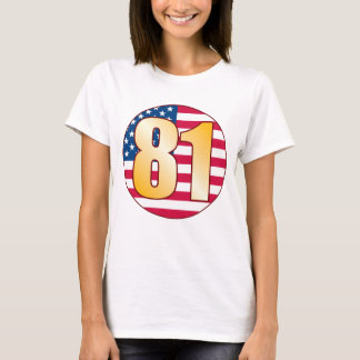 81 USA Gold T-Shirt