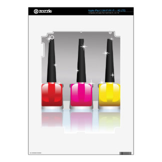 81Nail Polish Bottle_rasterized iPad 3 Decals