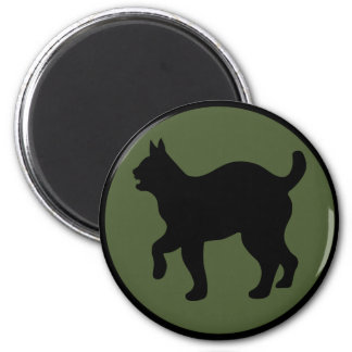 81st Infantry Division 2 Inch Round Magnet