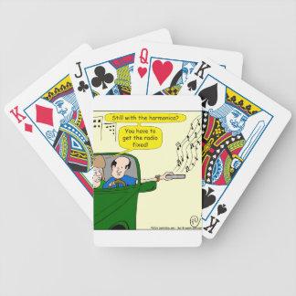 822 consiguen el dibujo animado fijo de radio baraja cartas de poker