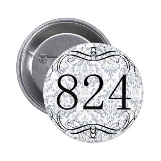 824 Area Code Buttons