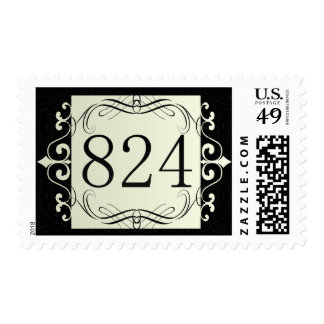 824 Area Code Postage Stamps