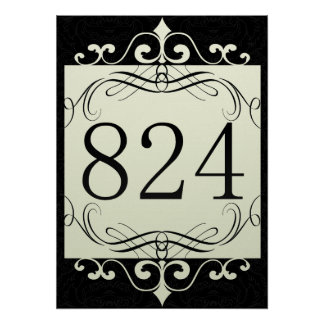 824 Area Code Poster