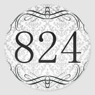 824 Area Code Stickers