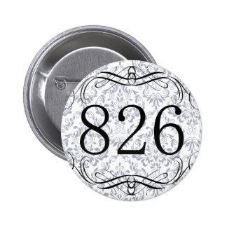 826 Area Code Button