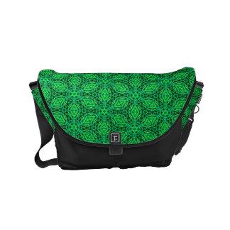 $82.95/ €71,75  Custom green designer MessengerBag Small Messenger Bag