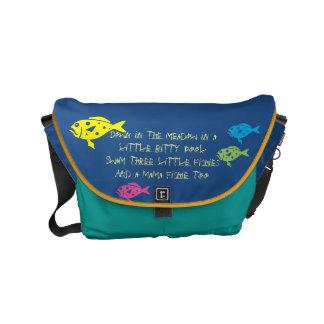 $ 82,95 / € 71,75  Three Fishies song School Bag