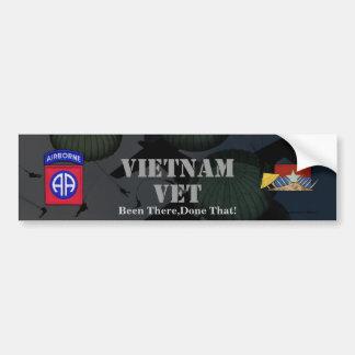 82.a pegatina para el parachoques del nam de Vietn Pegatina De Parachoque