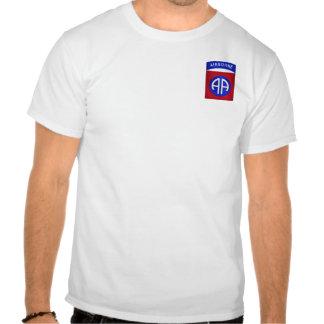 82.o Aerotransportado (bolsillo) Camiseta