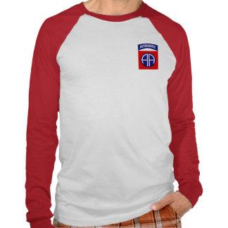 82.o Camiseta larga de la manga de la división aer