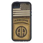 82.o Caso del iPhone de la división aerotransporta iPhone 5 Protectores