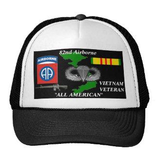 82.o División aerotransportada casquillos de la bo Gorros