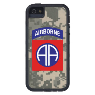 """82.o División aerotransportada """"toda la división iPhone 5 Carcasa"""