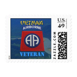 82.o franqueo de Vietnam de los veteranos de la di