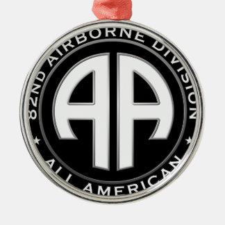 82.o Remiendo casual de la división Adorno Navideño Redondo De Metal