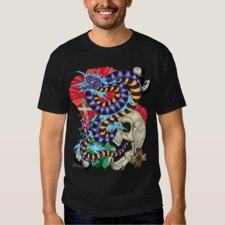 82-Snake Tattoo Flash T-Shirt