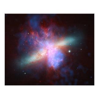 82 un compuesto más sucio de la galaxia M82 del Cojinete