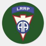 82d Airborne LRRP Recondo pocket patch Stickers