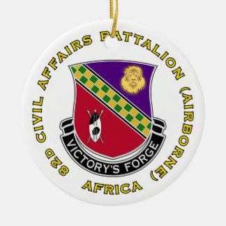 82d Civil Affairs Bn - Aiborne Ceramic Ornament