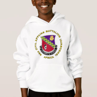 82d Civil Affairs Bn - Aiborne Hoodie