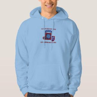 82D Support Bn 82D Airborne Hooded Sweatshirt