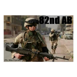 82nd AB Poster