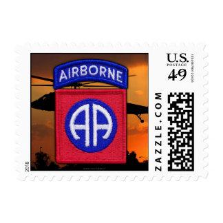 82nd ABN Airborne Div Vets LRRP Postage