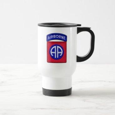 82nd ABN DIV Airborne Division Veterans Vets Travel Mug