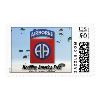 82nd ABN DIV airborne divisions veterans Postage