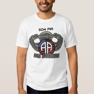 82nd Airborne 504 PIR Paratroopers Fort Bragg Shirts