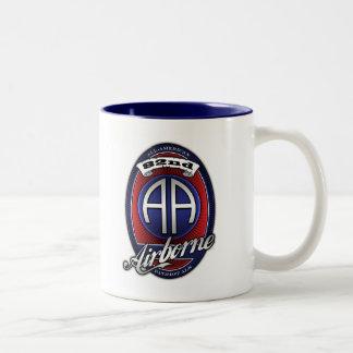 82nd Airborne Beer Label Mug