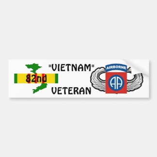 82nd Airborne bumper sticker
