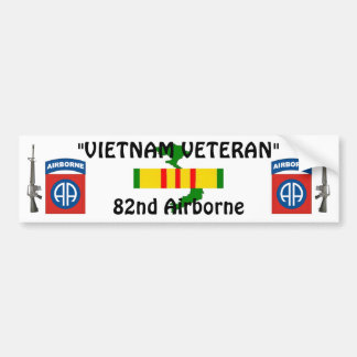 82nd Airborne bumper sticker 2