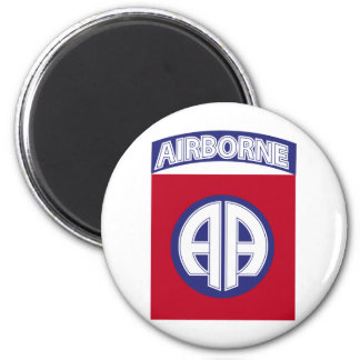 82nd Airborne - Combat Service Badge Magnet