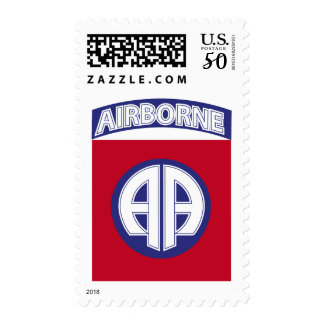 82nd Airborne - Combat Service Badge Postage
