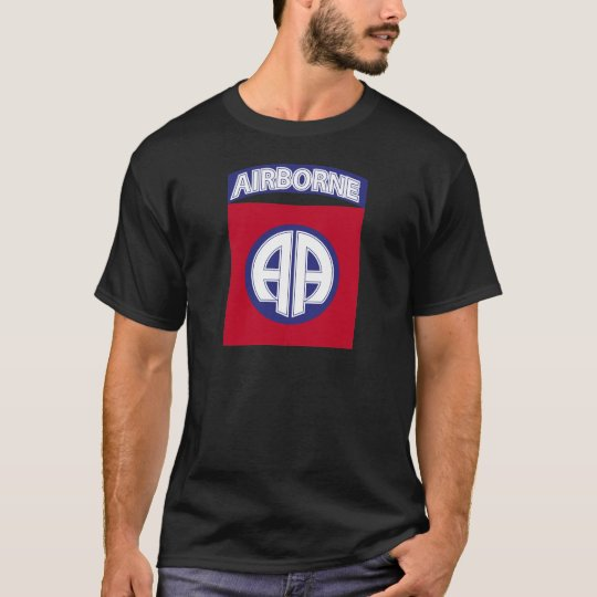 82nd Airborne - Combat Service Badge T-Shirt